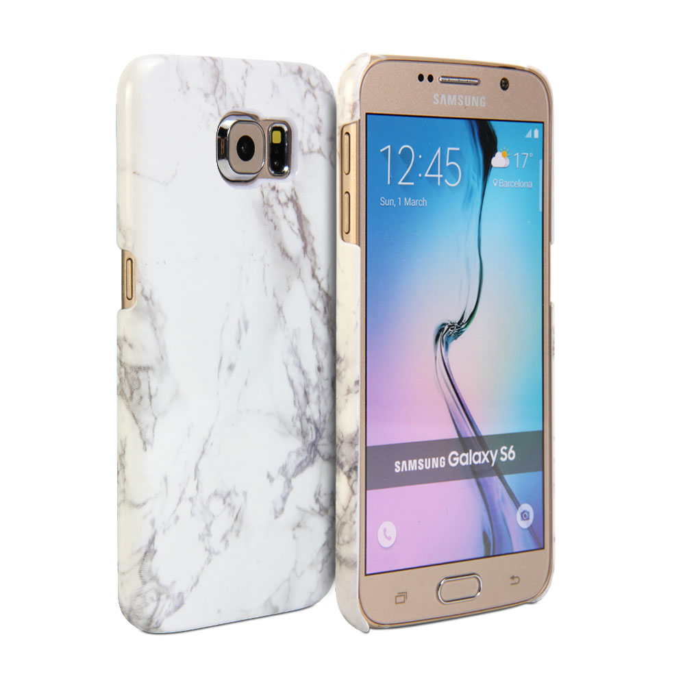 samsung s6 phone case marble
