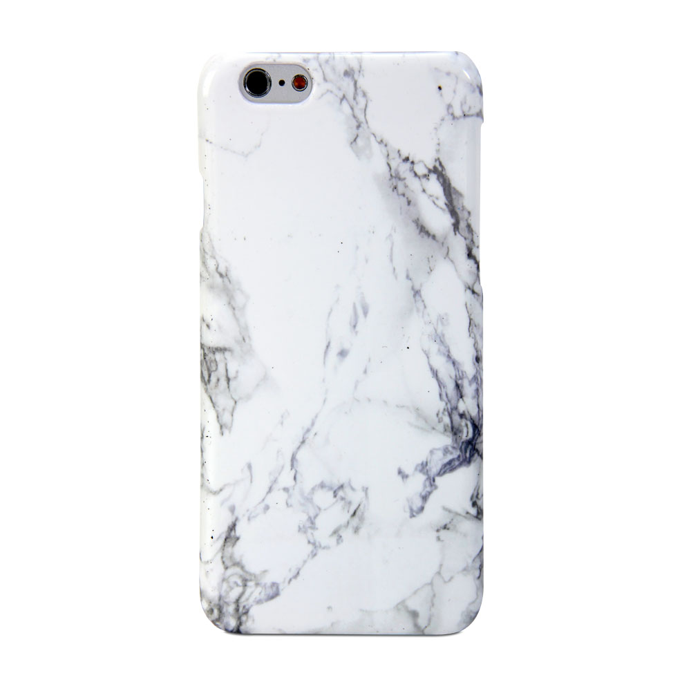 iphone 6 case gmyle hard case print crystal white marble pattern cover ebay. Black Bedroom Furniture Sets. Home Design Ideas
