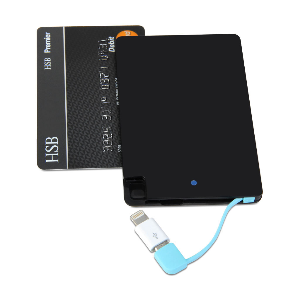 Gmyle Power Bank Ultra Thin Wallet Sized Portable Usb